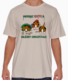 Nothin' Butt A Basset Christmas Tshirt