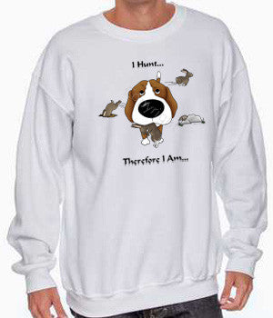 i hunt beagle sweatshirt