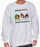 Nothin' Butt A Beagle Christmas Sweatshirt