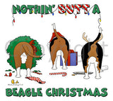Nothin' Butt A Beagle Christmas Shirts - More Styles and Colors Available