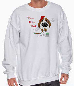 Beagle santa's cookies christmas sweatshirt