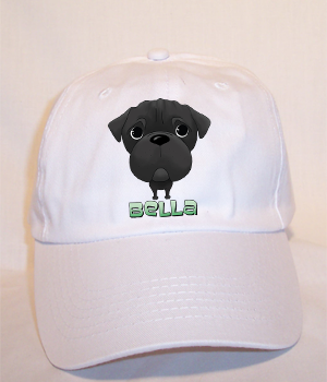 Custom Bella Budget Cap - White