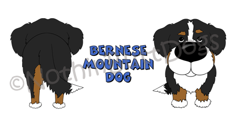 Big Nose Bernese Mt. Dog 11 oz Mug