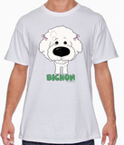 Big Nose Bichon Frise T-shirts - More Colors Available