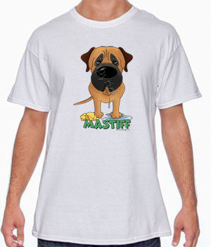 Big Nose Mastiff (Apricot) Shirts - More Styles and Colors Available