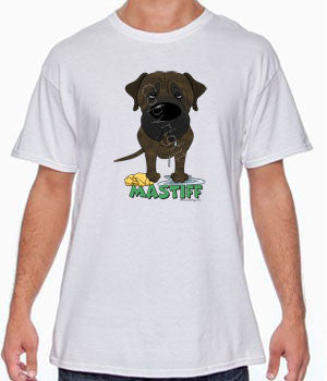Big Nose Mastiff (Brindle) Shirts - More Styles and Colors Available
