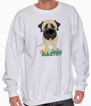 Big Nose Mastiff (Fawn) Shirts - More Styles and Colors Available