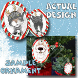 Custom - Biscuit & Hobbs Christmas Ornaments