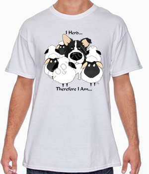 I Herd Border Collie T-shirts - More Colors Available