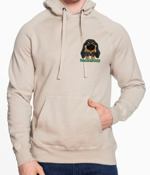 Black/Tan Dachshund (Big Nose) Sweatshirts - More Styles and Colors Available