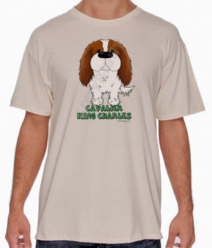 Blenheim Cavalier King Charles Spaniel (Big Nose) Shirts - More Styles and Colors Available