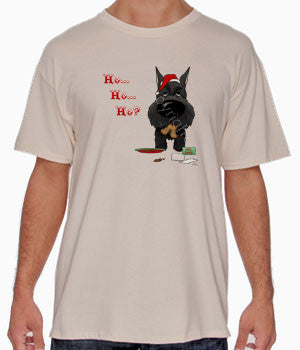 Black Schnauzer Santa's Cookies Shirts - More Styles and Colors Available