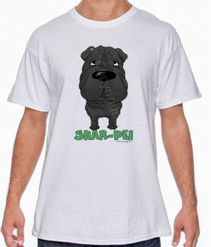 Big Nose Black Shar-Pei Shirts - More Styles and Colors Available