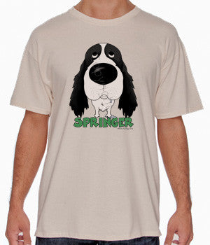Big Nose Springer (Black) Shirts - More Styles and Colors Available