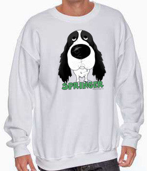 big nose springer sweatshirt