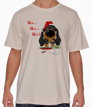 Black & Tan Dachshund Santa's Cookies Shirts - More Styles and Colors Available