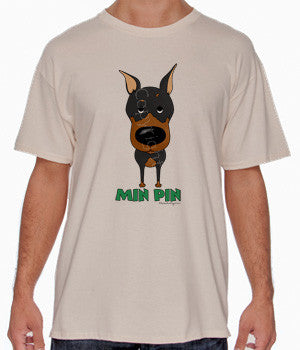 Big Nose Black & Tan Min Pin Shirts - More Styles and Colors Available