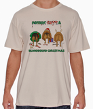 Nothin' Butt A Bloodhound Christmas Tshirt