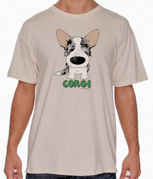 Blue Merle Cardigan Welsh Corgi (Big Nose) Shirts - More Styles and Colors Available