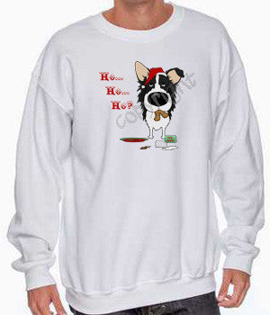 Border Collie santa's cookies christmas sweatshirt