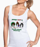 Nothin' Butt A Boston Terrier Christmas Tank Top