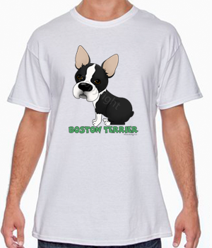 Big Nose Boston Terrier T-shirts - More Colors Available