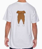Big Nose Boxer (Tan/White) T-shirts - More Colors Available