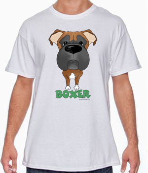 big nose boxer tshirt