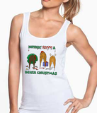 Nothin' Butt A Boxer Christmas Tank Top