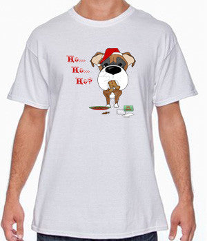 Fawn Boxer Santa's Cookies Shirts - More Styles and Colors Available