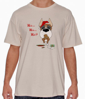 Boxer Santa's Cookies Shirts - More Styles and Colors Available