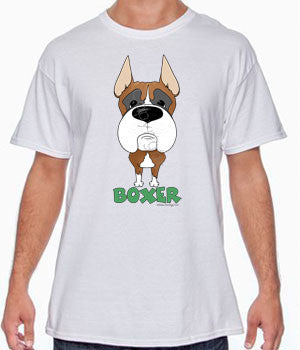 big nose boxer tee
