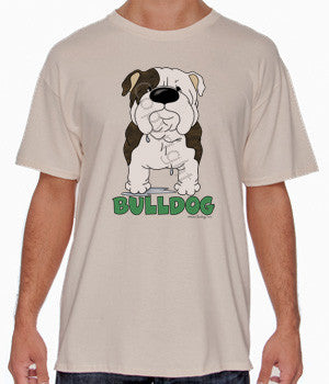 Big Nose Bulldog (Brindle) Shirts - More Styles and Colors Available