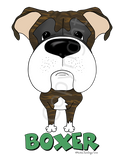 Big Nose Boxer (Brindle) Youth T-shirts - More Colors Available