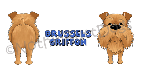 Big Nose Brussels Griffon Uncropped 11 oz Mug