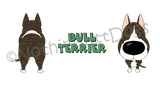 Big Nose Bull Terrier 11 oz Mug