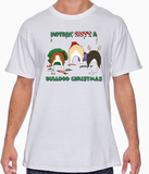 Nothin' Butt A Bulldog Christmas Tshirt
