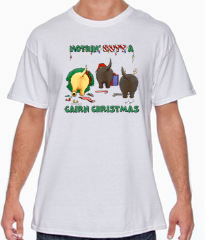Nothin' Butt A Cairn Christmas Shirts - More Styles and Colors Available