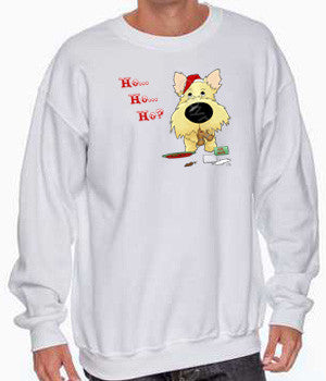 Wheaten Cairn Terrier Santa's Cookies Shirts - More Styles and Colors Available