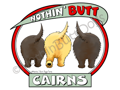 Nothin' Butt Cairns Light Colored T-shirts