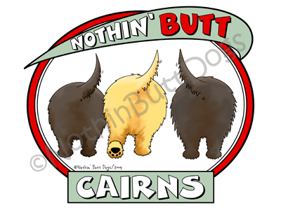 Nothin' Butt Cairns Dark Colored T-shirts