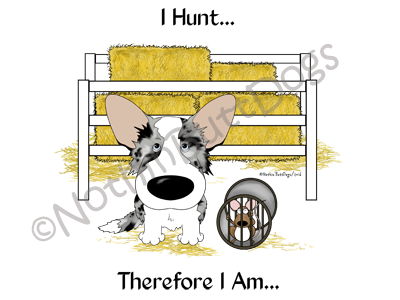 Cardigan Corgi Barn Hunt.... Light Colored T-shirts