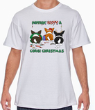 Nothin' Butt A Cardigan Welsh Corgi Christmas Tshirt