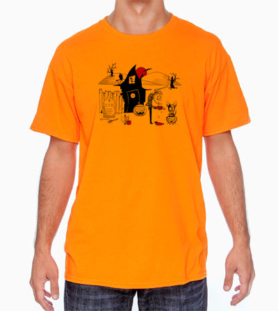 Halloween Gothic Cattle Dog Shirt