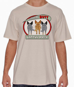 cattle dog butt tshirts