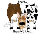Cattle Dog I Herd.... Light Colored T-shirts