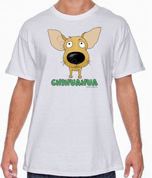 Big Nose Chihuahua Shirts - More Styles and Colors Available