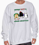 Nothin' Butt A Cocker Spaniel Christmas Sweatshirt
