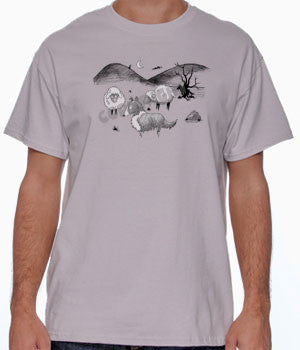 Gothic Collie Shirts - More Styles and Colors Available