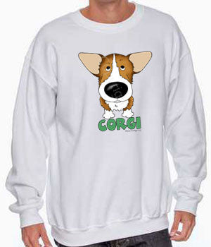 Big Nose Corgi Shirts - More Styles and Colors Available